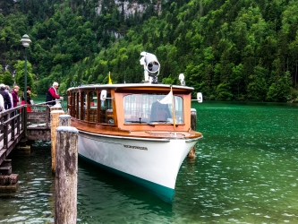 Salzburg, Orlí hnízdo, jezero Königssee a malebný Hallstatt