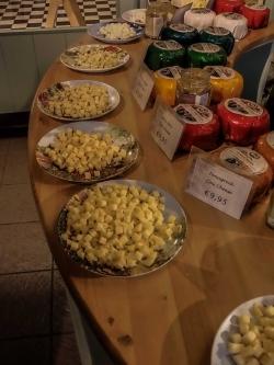 sýry a ochutnávka v Alida Hoeve