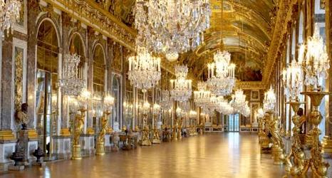 interiéry zámku Versailles