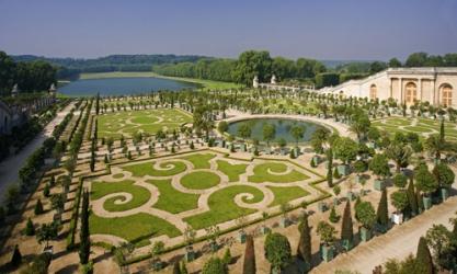 zámecké zahrady Versailles