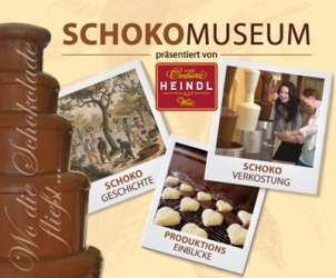 Čokomuzeum Heindl, zámek Schönbrunn a pandy ve vídeňské ZOO