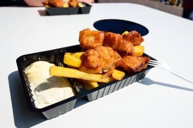 rybí speciality ve Volendam