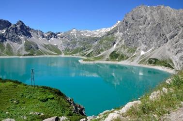 jezero Lünersee