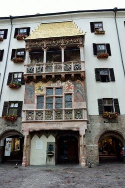 Zlatá stříška v Innsbrucku