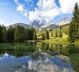 6 jezer Tauplizalm a úchvatný Dachstein