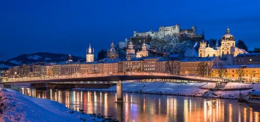 Adventní Salzburg, Wolfgangsee a zámek Hellbrunn