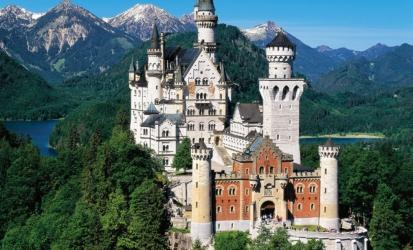 Bavorsko a zámek NEUSCHWANSTEIN