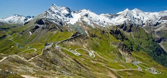 panoramatickou silnicí Grossglockner