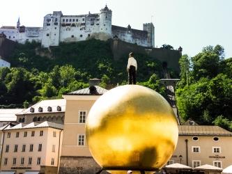 Salzburg, Orlí hnízdo, jezero Königssee a malebný Hallstatt, 5.10.-6.10.2019